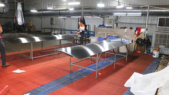 镀钛前期洗板工作