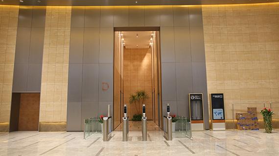 电梯厅不锈钢蜂窝板