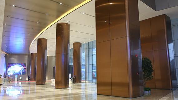 大厅不锈钢柱