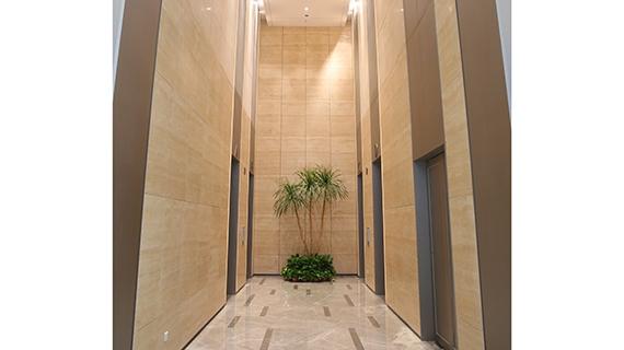 电梯厅不锈钢蜂窝板安装
